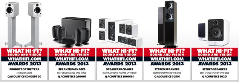 qacoustics awards