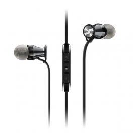 MOMENTUM In Ear Black Chrome